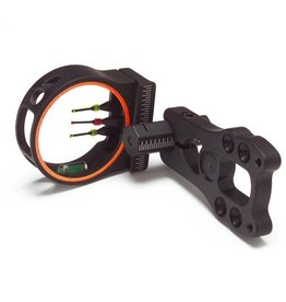 3006 3006 KPBOW SIGHT ALUMA 4 PIN FIBER W/ LIGHT AND LEVEL