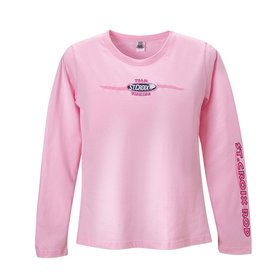 St. Croix Women's Pink Team Fishing Long Sleeve Medium