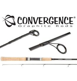 "SHIMANO SHIMANO CONVERGENCE WALLEYE SPINNING ROD 6'6"" M 2PC"