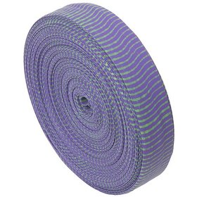 "BROMLEY BROMLEY OMP VIBE STRING SILENCER 85"" ROLL PURPLE AND GREEN"