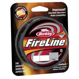 BERKLEY BERKLEY FIRELINE FUSED 30LB ORIGINAL 125YD  SMOKE