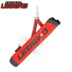 LEGEND ARCHERY LEGEND ARCHERY 2 TUBE RED YOUTH QUIVER