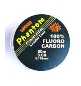 REDWING REDWING PHANTOM 100% FLUROCARBON LEADER LINE 5.6# 50M