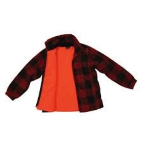BACKWOODS BACKWOODS KIDS LUMBERJACK REVERSIBLE JACKET 2X-LARGE