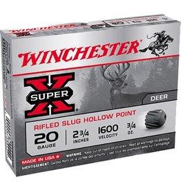 """WINCHESTER WINCHESTER 20GA 2.75"""" 3/4OZ SLUG"""
