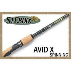 "ST. CROIX ST. CROIX AVID X 6'6"" MED-LITE SPINNING ROD"