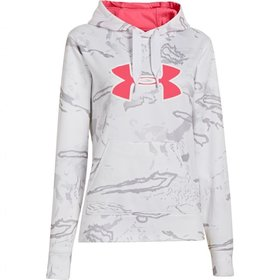 UNDER ARMOUR UNDER ARMOUR WOMEN'S CAMO BIG LOGO HOODY SMALL