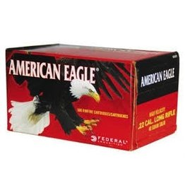 FEDERAL FEDERAL AMMUNITION AMERICAN EAGLE .22 CAL. LONG RIFLE 40GR SOLID