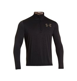 UNDER ARMOUR UNDER ARMOUR-BORDERLAND 1/4 ZIP ASH/BCH X-LARGE