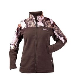 ROCKY CANADA ROCKY WOMEN'S BRN/WINTER PINK FLEECE JACKET MEDIUM
