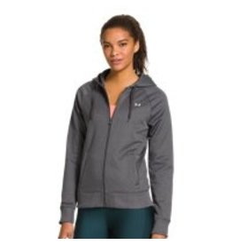 UNDER ARMOUR UNDER ARMOUR WOMEN'S SEMI-FITTED HOODY GREY X-LARGE