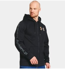 UNDER ARMOUR UNDER ARMOUR COLD GEAR INFRARED STORM CALIBER BLACK SWEATER