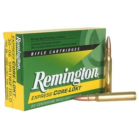 REMINGTON REMINGTON 30-06 SPRINGFIELD 180Gr PSPCL  R30065