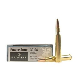 FEDERAL FEDERAL 30-06 220GR SP RN POWER-SHOK