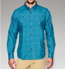 UNDER ARMOUR UNDER ARMOUR CHESAPEAKE LONG SLEEVE PLAID LARGE