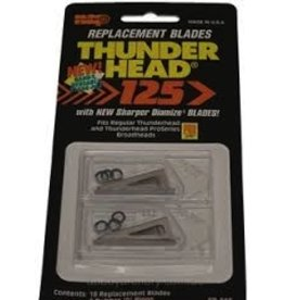 Nap Replacement Blades Thunderhead 125g 18PK