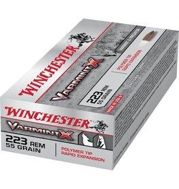 WINCHESTER WINCHESTER 223 REM VARMIT X 55GR POLYMER TIP