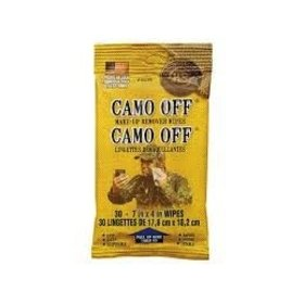 HUNTER SPECIALTIES HUNTER'S SPECIALTIES CAMO OFF MAKE-UP REMOVER WIPES
