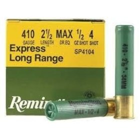 "REMINGTON REMINGTON 410G 2-1/2"" 1OZ #4"