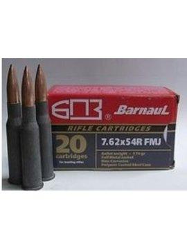 BARNAUL 7.62 x 54R 174GR FMJ 20 RDS