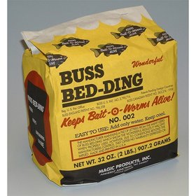 BUSS WORM BEDDING 2LB BAG