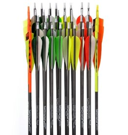 "GOLD TIP GOLD TIP ARROWS WARRIOR 500 4"" FEATHERS"