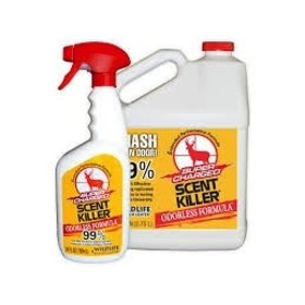 WILDLIFE RESEARCH SCENT KILLER SUPER CHARGED GALLON/ 24OZ SPRAY