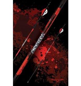 BLACK EAGLE BLACK EAGLE CARNIVORE FLETCHED ARROWS  -.003 250