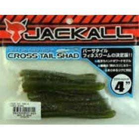 """JACKALL JACKALL CROSS TAIL SHAD BABY BASS 4"""""""