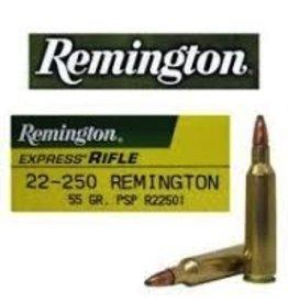 REMINGTON REMINGTON 22-250 55 GR PSP 20 RDS