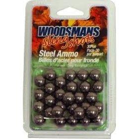 WOODSMANS WOODSMANS SLINGSHOT STEEL AMMO