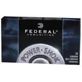 FEDERAL AMMUNITION 6MM REM. 100 GRAIN SOFT POINT HI-SHOK SP