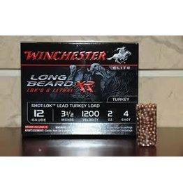 "WINCHESTER WINCHESTER LONG BEARD XR LOK'D &LETHAL 12GA 3.5"" #4 TURKEY LOAD"