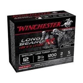 "WINCHESTER WINCHESTER LONG BEARD XR LOK'D & LETHAL 12 GA 3"" #5 1.75OZ 10 SHELLS"