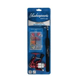 SHAKESPEARE SHAKESPEARE COMPLETE TELESCOPIC FISHING KIT