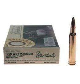 WEATHERBY WEATHERBY .300 WBY MAGNUM 180GR SPITZER