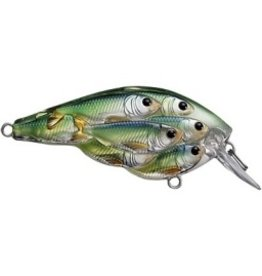 """KOPPERS KOPPERS LIVE TARGET 1-7/8"""" YEARLING 3-4' BLUE/CHARTREUSE SHAD"""