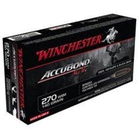 WINCHESTER WINCHESTER ACCUBOND CT 270 WSM 140GR