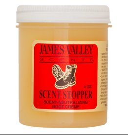 JAMES VALLEY COMPANY JAMES VALLEY SCENT STOPPER BOOT CREME 4 OZ