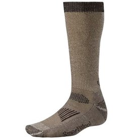 SMARTWOOL SMARTWOOL MEN'S HUNT CREW  LIGHT CUSHION LG TAUPE/ BROWN