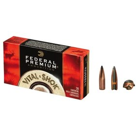 FEDERAL FEDERAL 338 WIN MAG 250GR NOSLER PARTITION