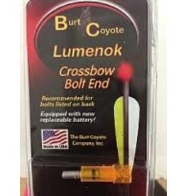 BURT COYOTE BURT COYOTE LUMENOK CROSSBOW BOLT END RED