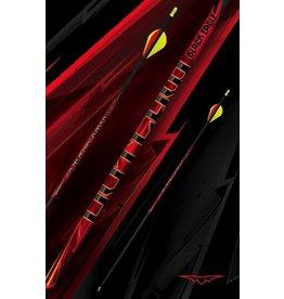 BLACK EAGLE BLACK EAGLE OUTLAW FLETCHED ARROWS 400 -.005
