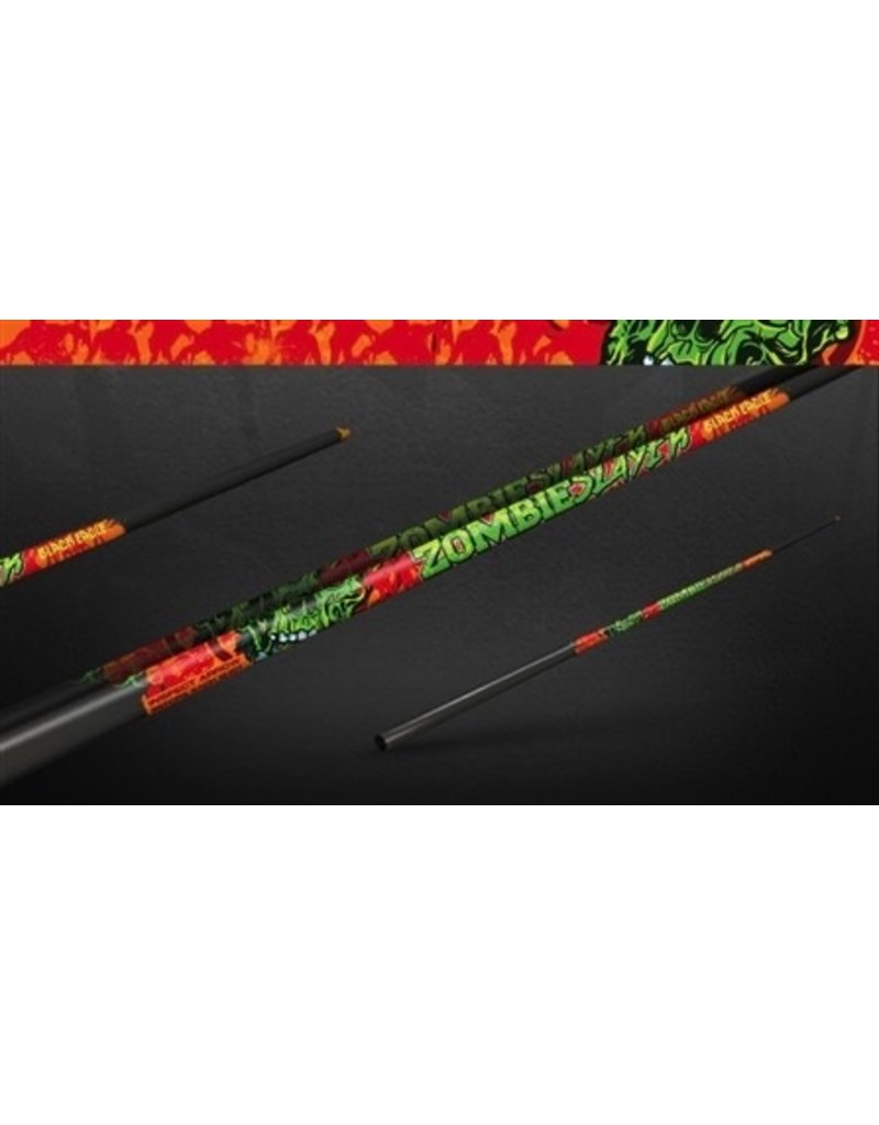 "BLACK EAGLE BLACK EAGLE ZOMBIE SLAYER CROSSBOW FLETCHED ARROW-.001"" 6PK 18"""