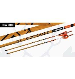 BLACK EAGLE BLACK EAGLE VINTAGE FLETCHED ARROWS .003 500