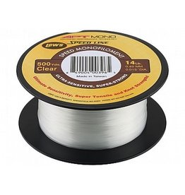 LEW'S LEW'S APT SPEED MONO 8 LB 500 YDS FILLER SPOOL CLEAR