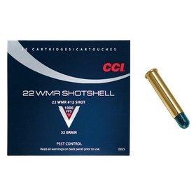 CCI CCI C.22 WMR SHOTSHELLS 1/8 OZ #12 SHOT 20 PK