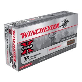 WINCHESTER WINCHESTER 32 WIN SPECIAL 170GR POWER POINT