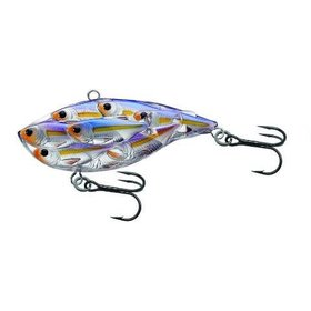 "KOPPERS KOPPER'S LIVE TARGET 3"" BB YEARLING MED/SINK PEARL/ VIOLET SHAD"
