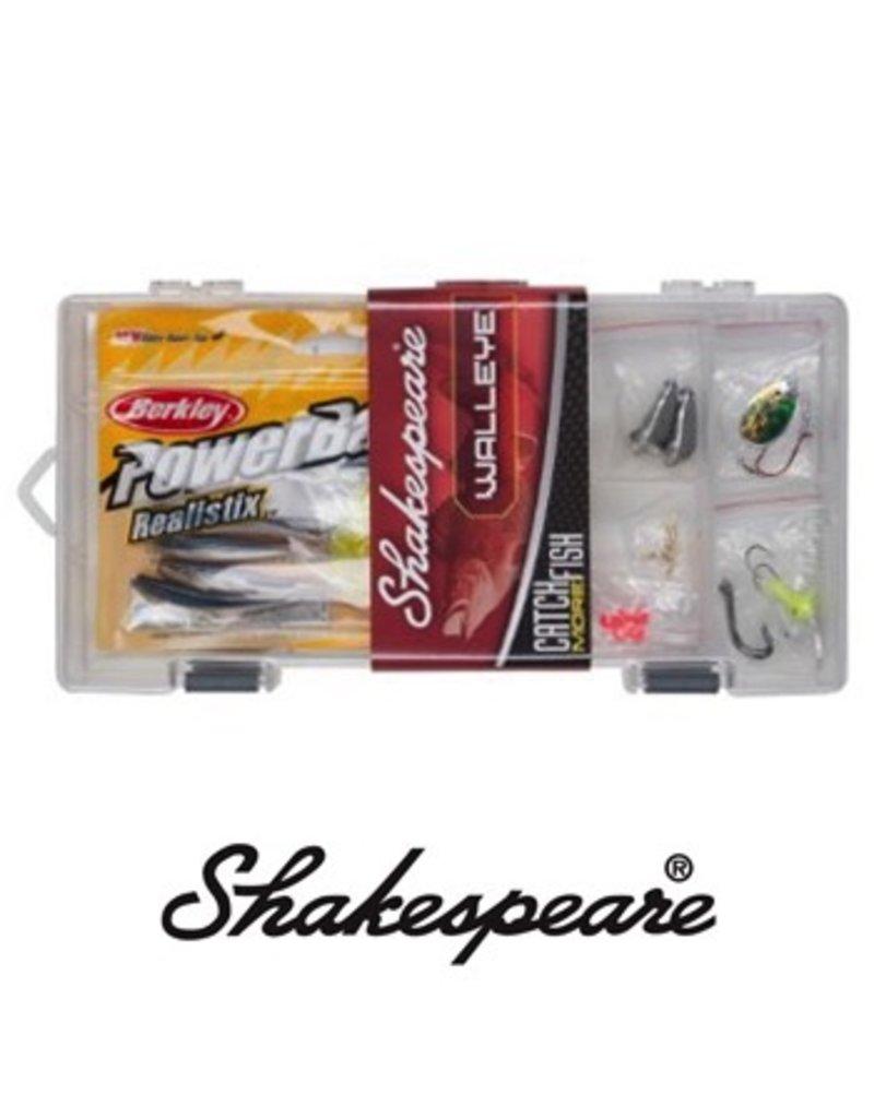 SHAKESPEARE SHAKESPEARE WALLEYE TACKLE  BOX KIT